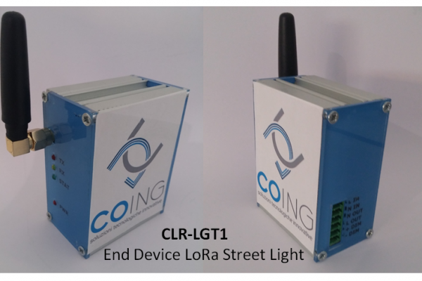 MODULO END DEVICE LORA STREET LIGTH